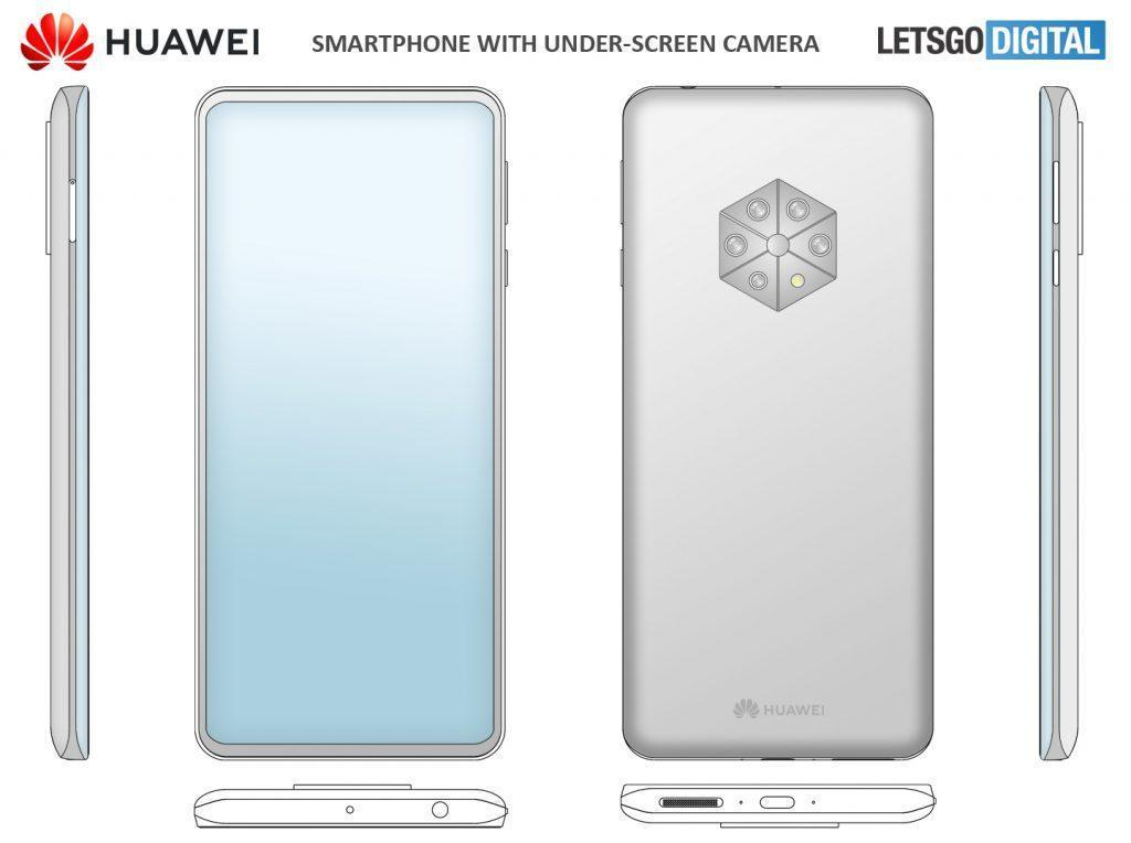 Huawei запатентовала смартфон с 5 задними камерами (huawei smartphone penta camera 1024x764 1)