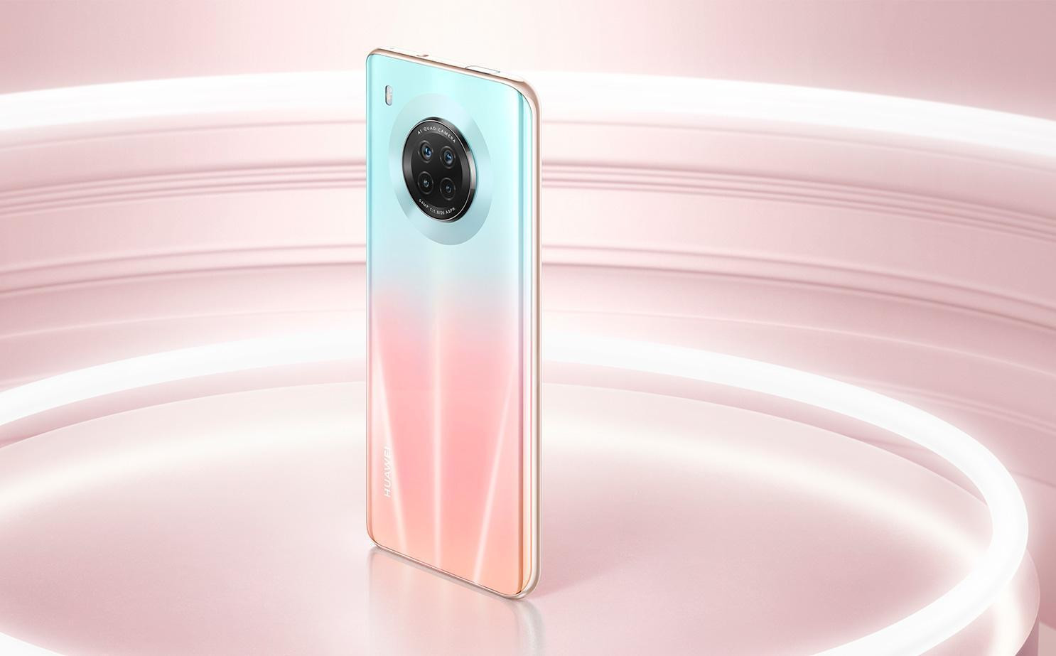 Huawei представила смартфон Huawei Y9a (huawei y9a id design 02 large)