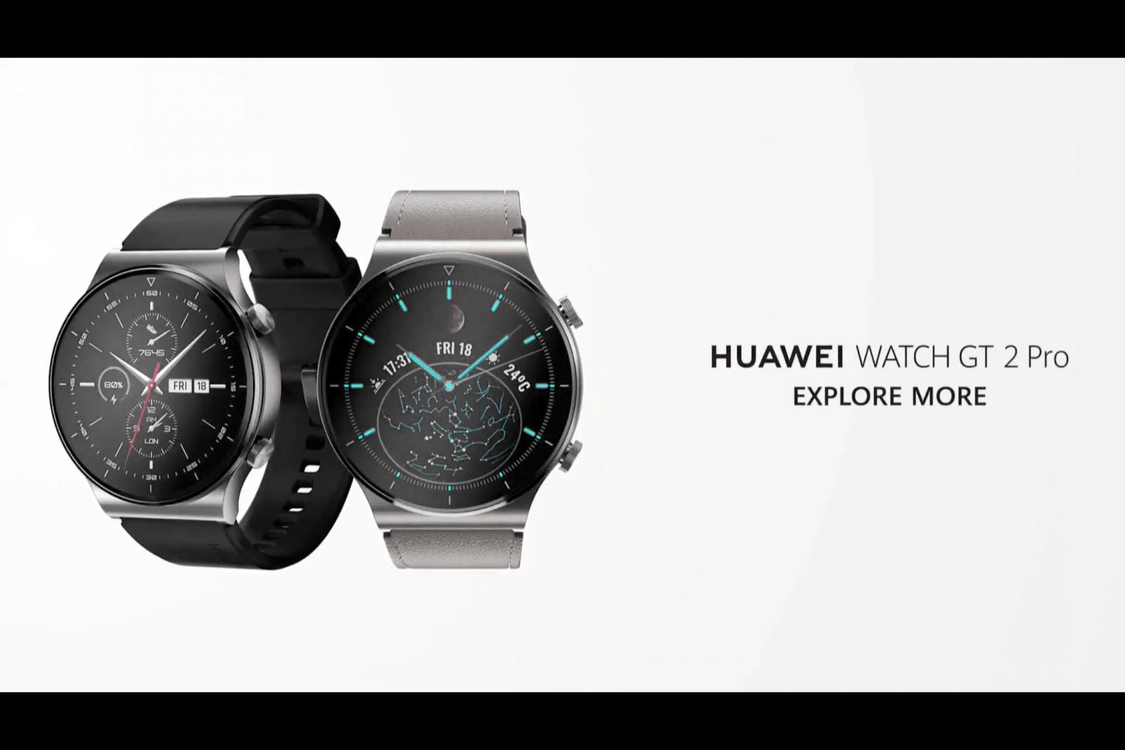 Huawei представила умные часы Huawei Watch GT 2 Pro (image 2)