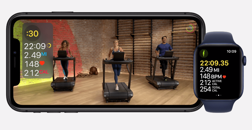 Apple запустила сервис Fitness+ для Apple Watch (image 27)