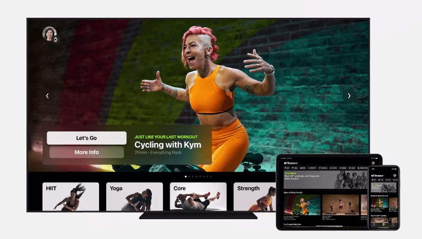 Apple запустила сервис Fitness+ для Apple Watch (image 30)