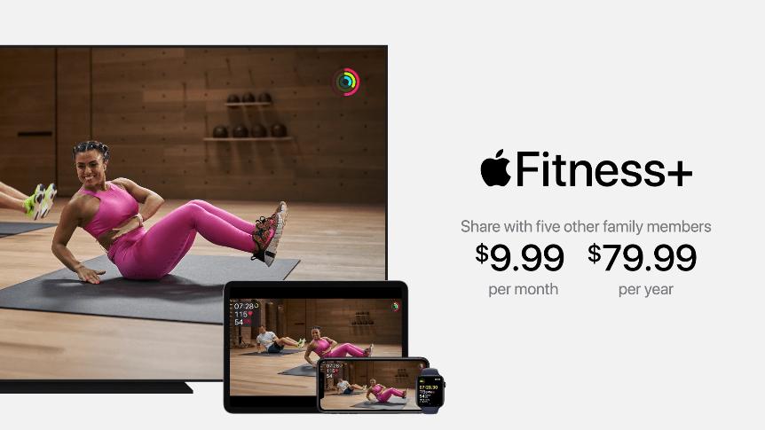 Apple запустила сервис Fitness+ для Apple Watch (image 33)