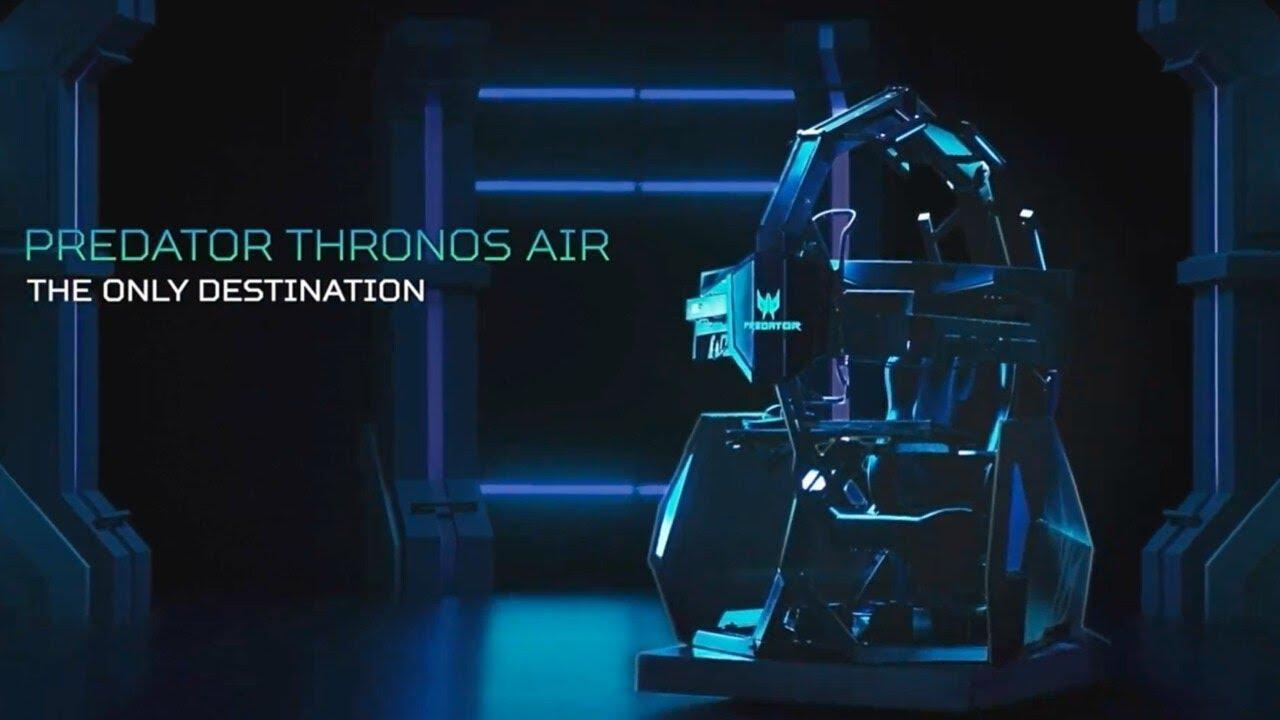 Acer представила новую версию игровой капсулы Predator Thronos Air (maxresdefault 1 3)