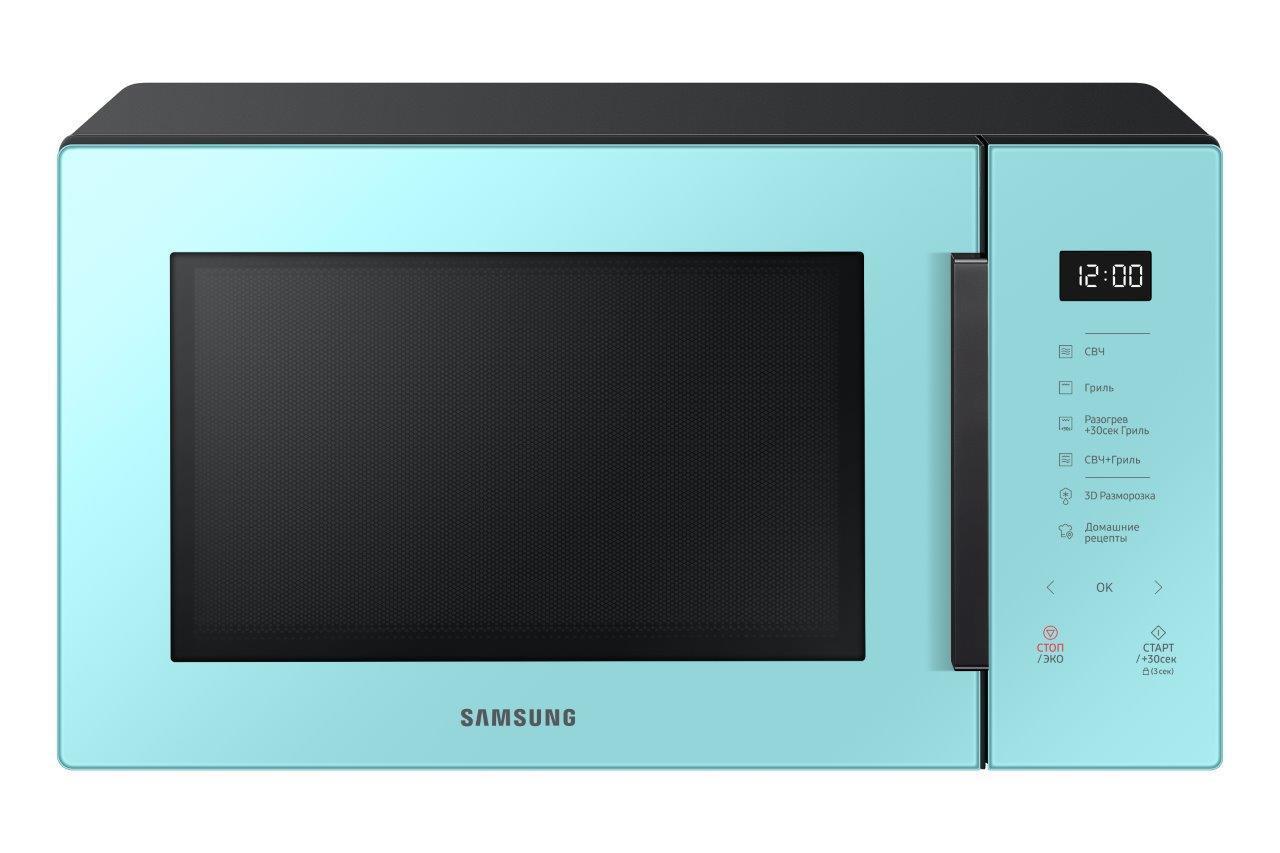 Обзор микроволновой печи Samsung MW5000T: красивая необходимость (mg30t5018an bw 001 front clean mint)