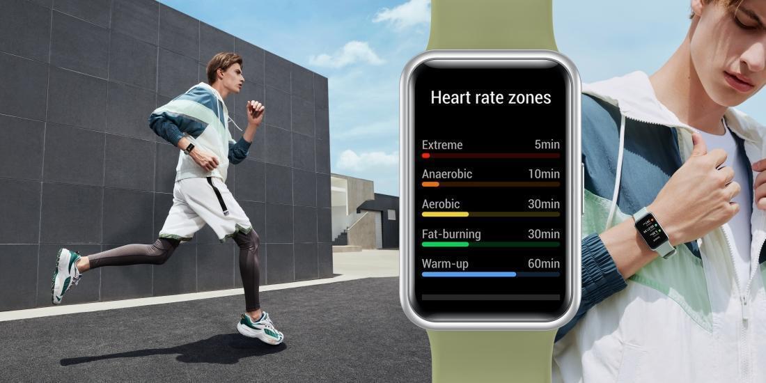 Компания Huawei представила фитнес-часы Huawei Watch Fit (mkt watch fit ksp shot running jpg en hq 20200730 big)