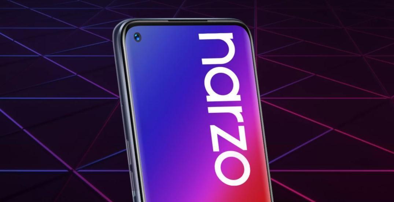 Смартфон Realme Narzo 20 Pro полностью рассекречен (narzo 20 series)