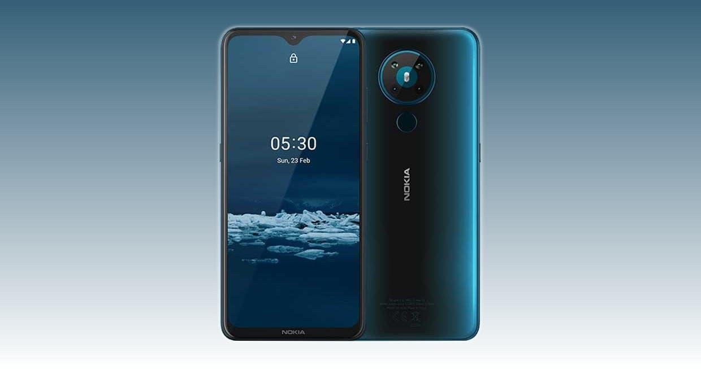 Nokia запустила новое поколение смартфонов (nokia 3.4 spes)