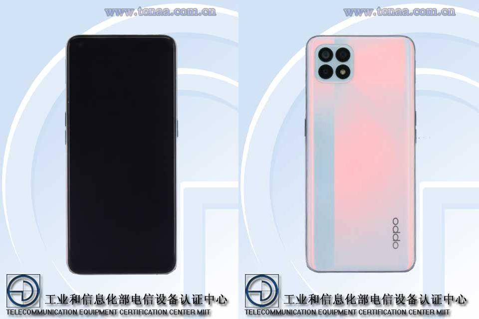 Серия OPPO Reno4 пополнится ещё одним смартфоном (oppo peam00 peat00 tenaa)