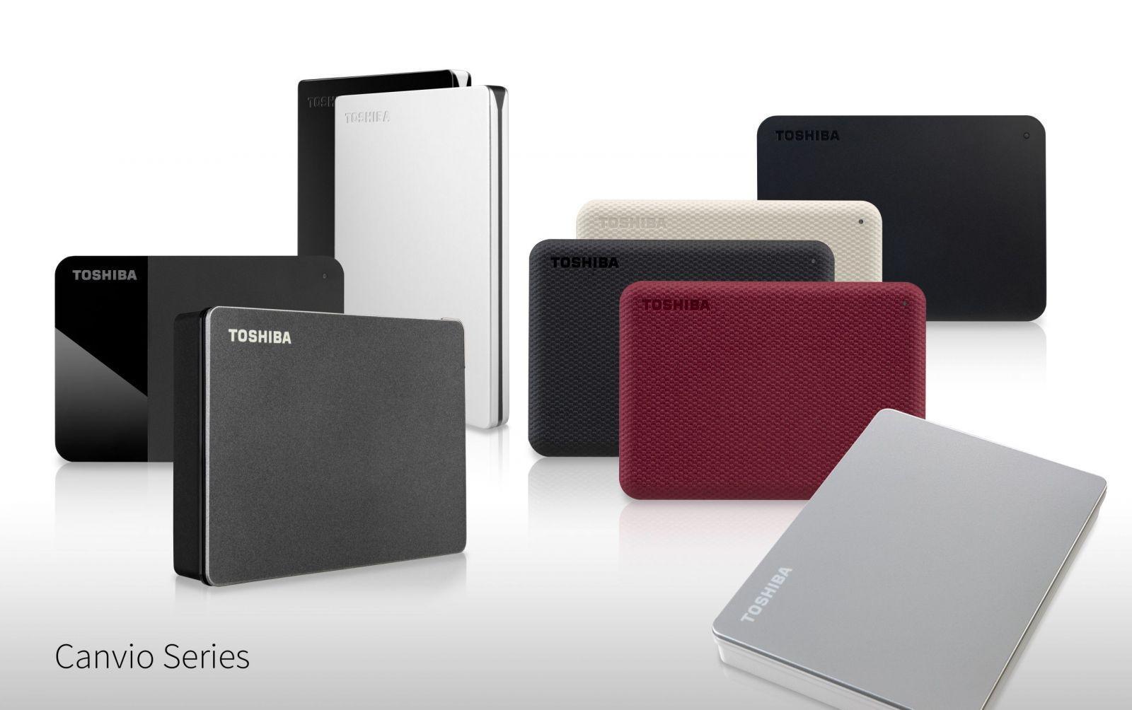 Toshiba представила два новых портативных накопителя (pressimage canvio2020 v2 scaled)