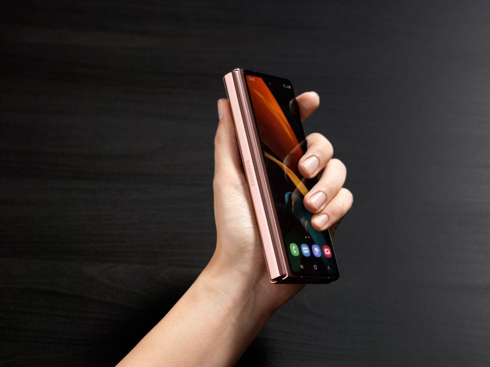 Samsung официально представил Galaxy Z Fold2