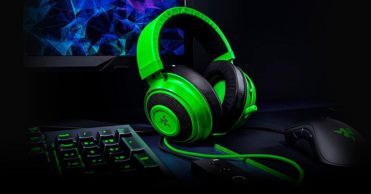 Утечка данных Razer могла затронуть более чем 100 000 клиентов (razer kraken te gaming headset hero)