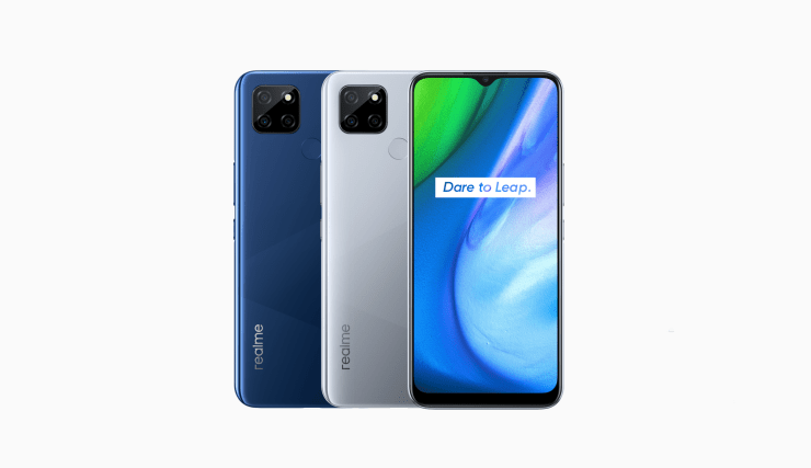 IFA 2020. Realme представила самый дешёвый 5G-смартфон (realme v3 5g design)