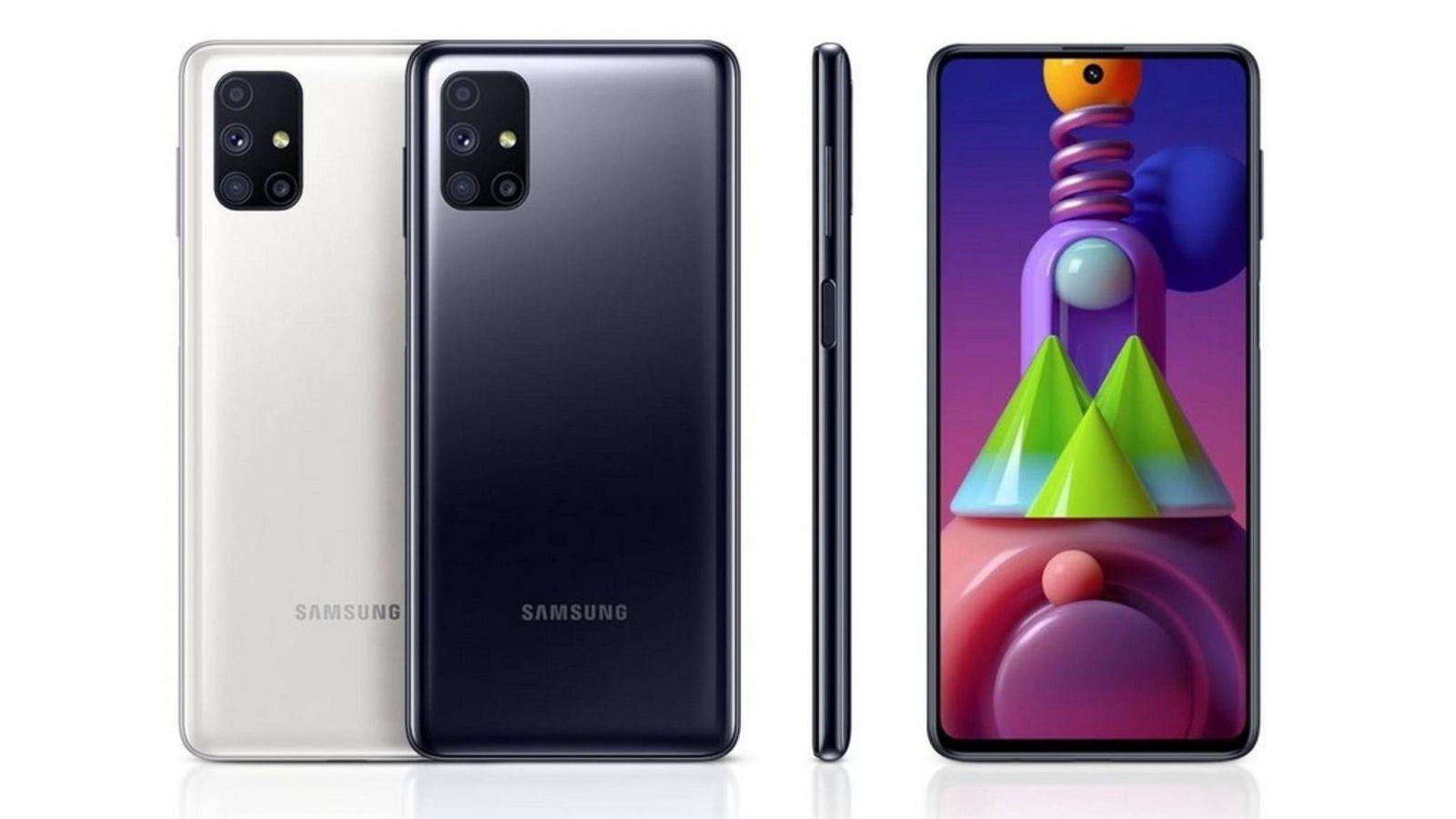 Монстр автономности Samsung Galaxy M51 приехал в Россию (samsung gala y m51 large)