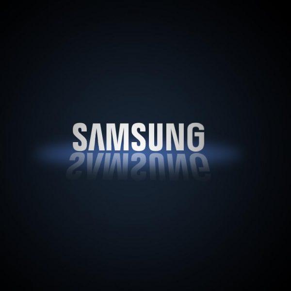 Модуль DDR5 на 512 ГБ от Samsung (samsung logo black background)
