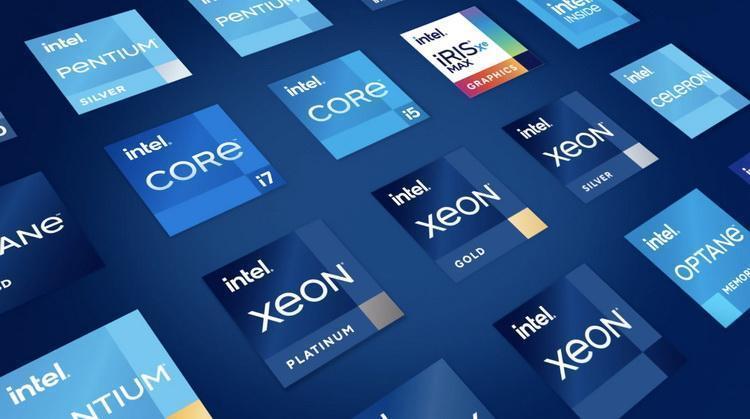 У Intel новый логотип (screen shot 2020)