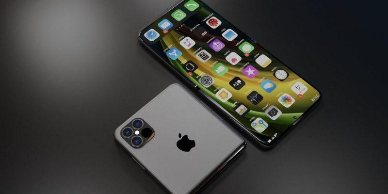 Apple может готовить складной iPhone (skladnoi iphone)