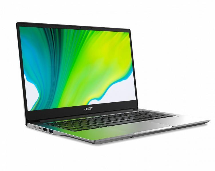 IFA 2020. Acer представила ноутбуки Swift 5 и Swift 3 с процессорами Intel Core 11-го поколения (swift 3 sf314 42 1 large)
