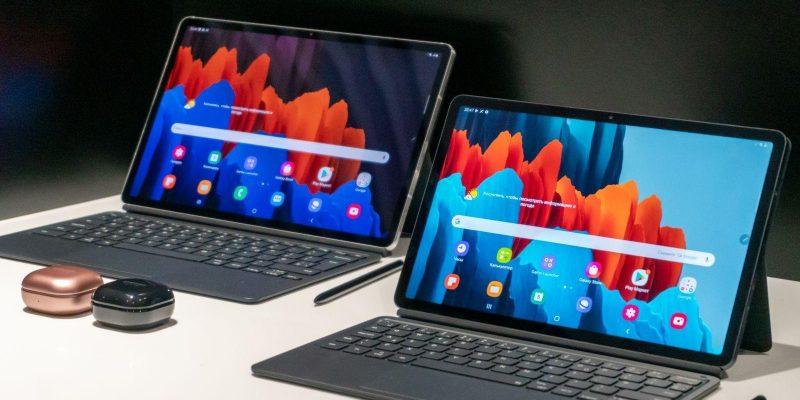Samsung представила планшет Galaxy Tab S7 5G (tab s7 and tab s7 plus large)