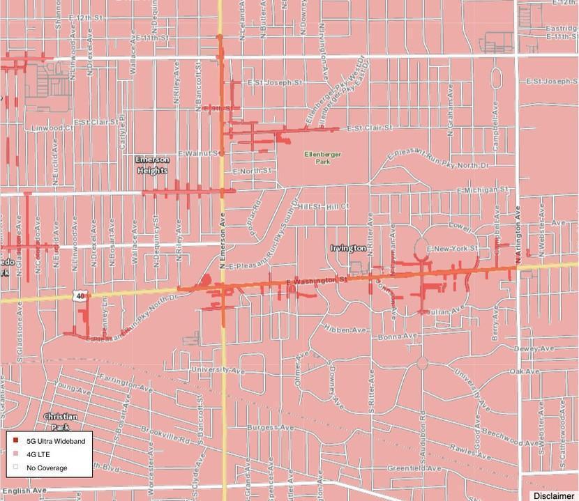 В США запустили 5G: вот все города, где работает новая связь (verizon uwb ultra wideband 5g coverage 9 2020)