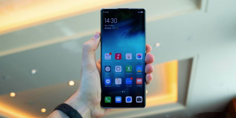 Xiaomi создаёт первый смартфон с камерой под экраном (vivo nex 3 5g)