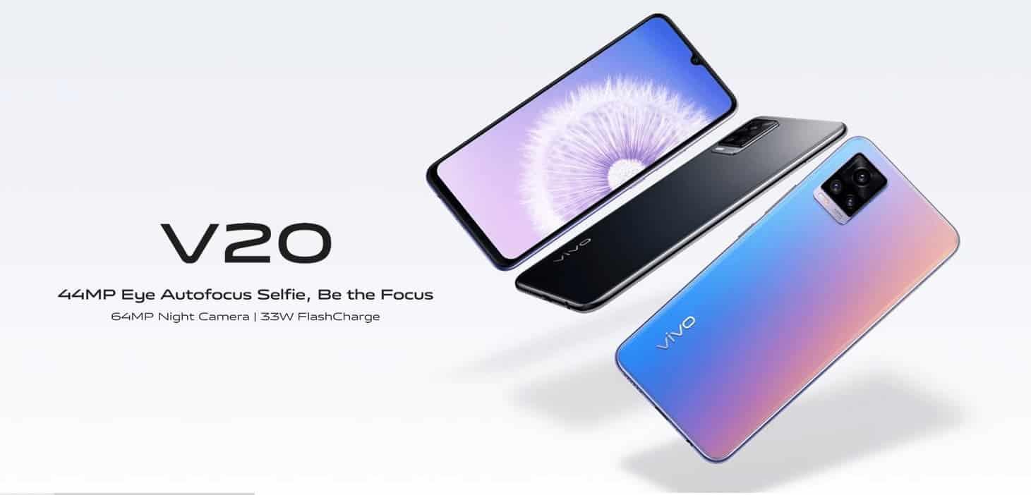 Vivo V20 станет первым смартфоном с Android 11 (vivo v20)