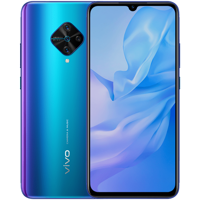 Vivo представила смартфон Vivo Y51 (2020) (vivo y51 jazzy blue)