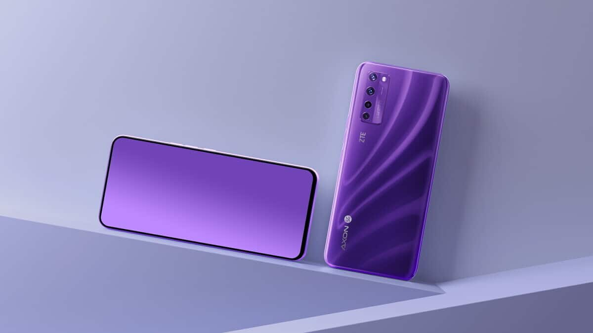 Представлен первый в мире смартфон с подэкранной камерой - ZTE Axon 20 5G (zte axon 20 5g image 2 0 large)