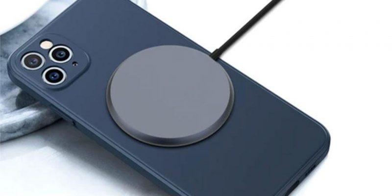 Магнитная зарядка для iPhone 12 засветилась до презентации Apple (38192 72396 201013 MPOW xl)