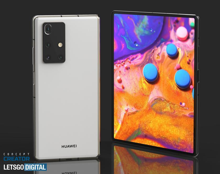 В сеть опубликовали концептуальные рендеры складного смартфона Huawei Mate X2 (638e91d2d3b52b7eebadc82bd2a9d27b)