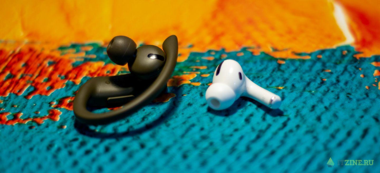 Наушник Beats PowerBeats Pro и AirPods Pro