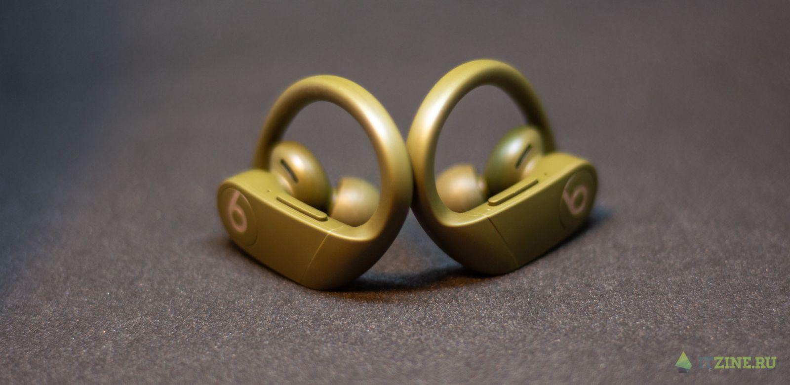 Дублированные кнопки на наушниках Beats PowerBeats Pro