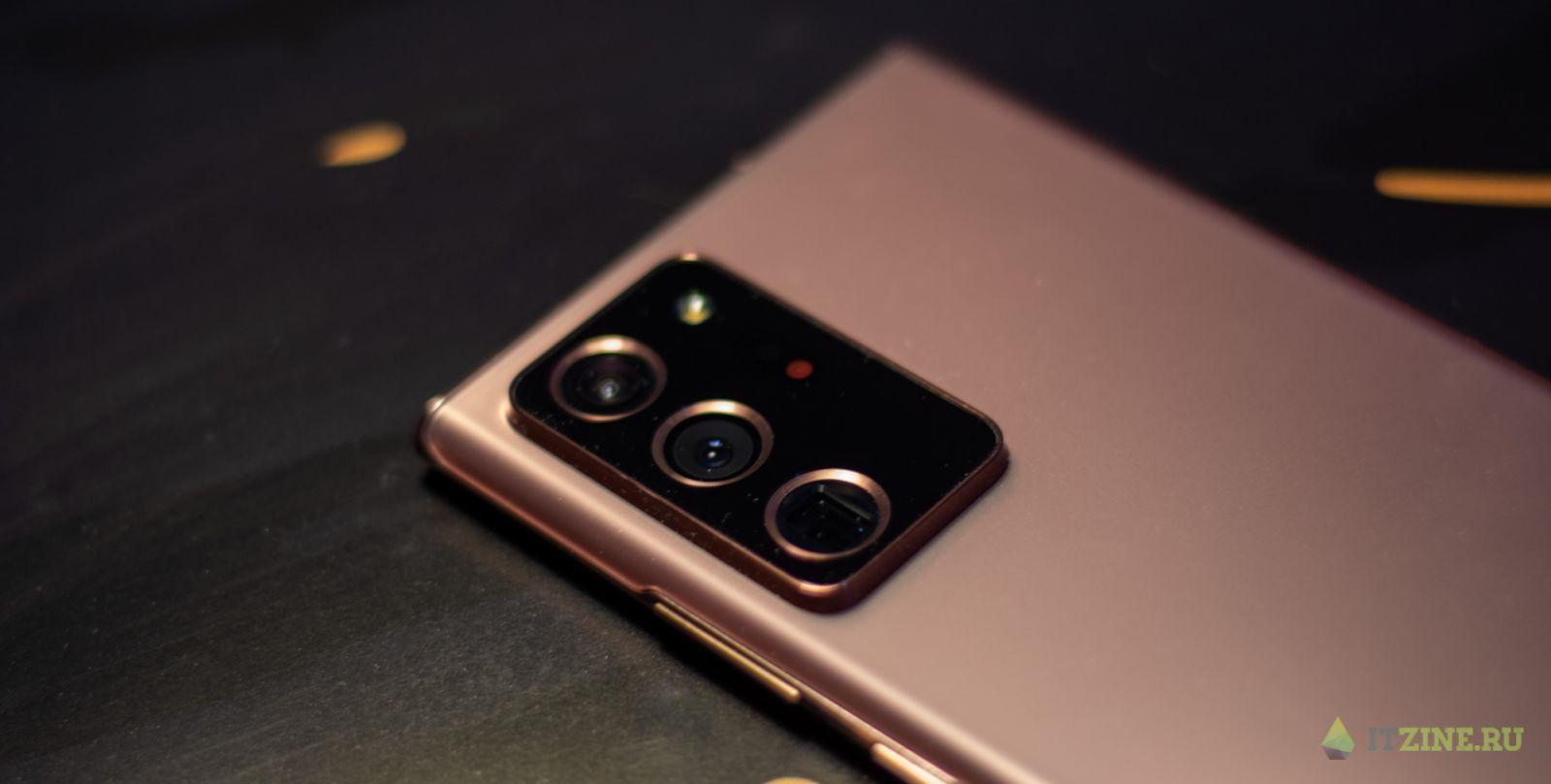 Модуль камеры Samsung Galaxy Note20 Ultra