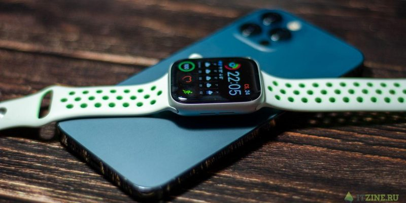 iPhone 12 Pro и Apple Watch series 6