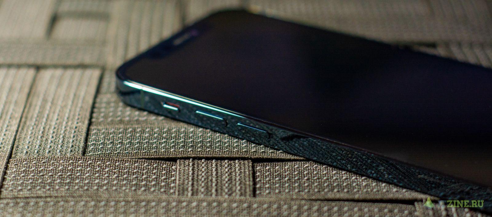 Блестящие боковые грани iPhone 12 Pro