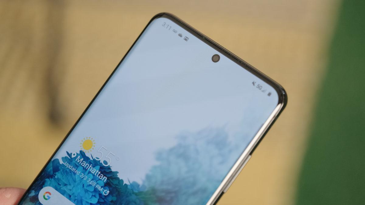 В Galaxy S30 не будет наушников и зарядки (Galaxy S20 screen plus punchole 1200x675 1)