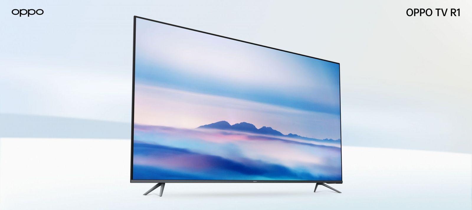 OPPO представила телевизоры, новые беспроводные наушники и другие умные устройства (OPPO TV R1 scaled)