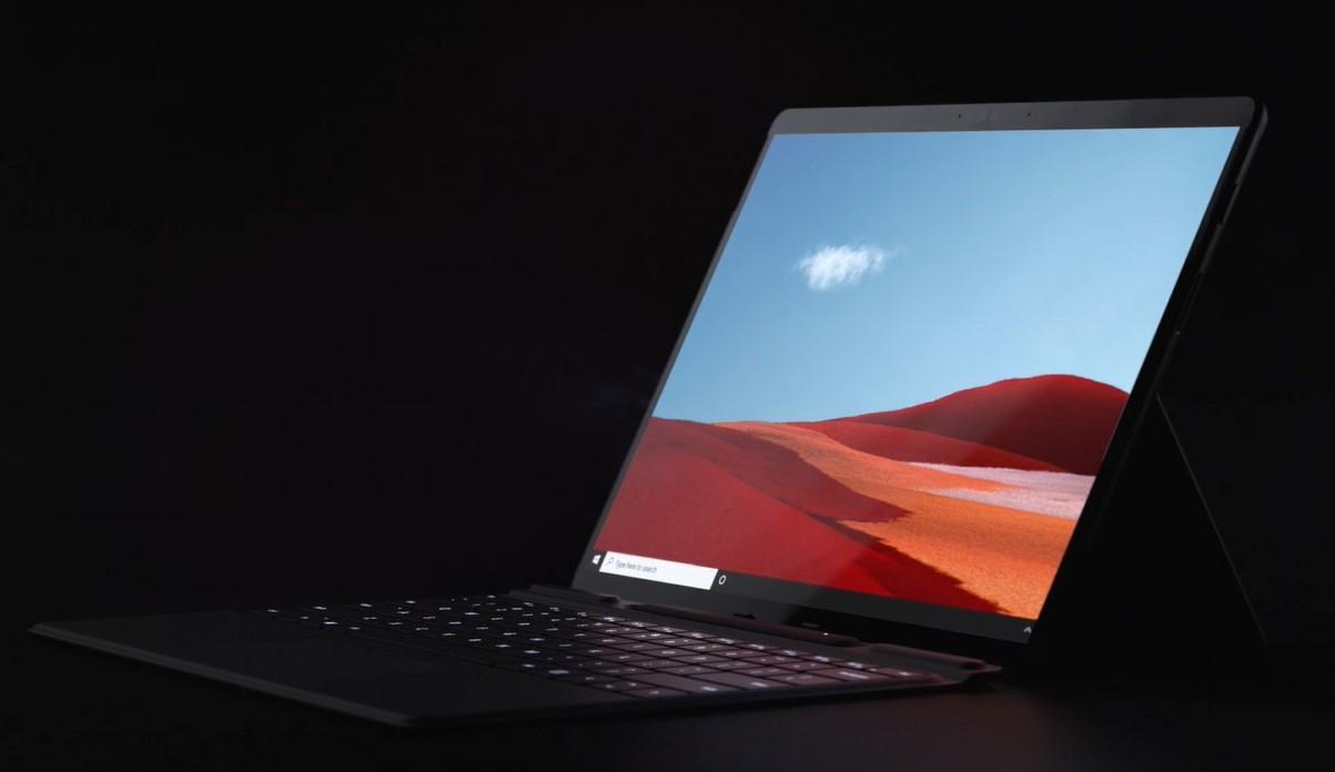 Microsoft представила два новых ноутбука - Surface Laptop Go и Surface Pro X (Surface Pro X featured)