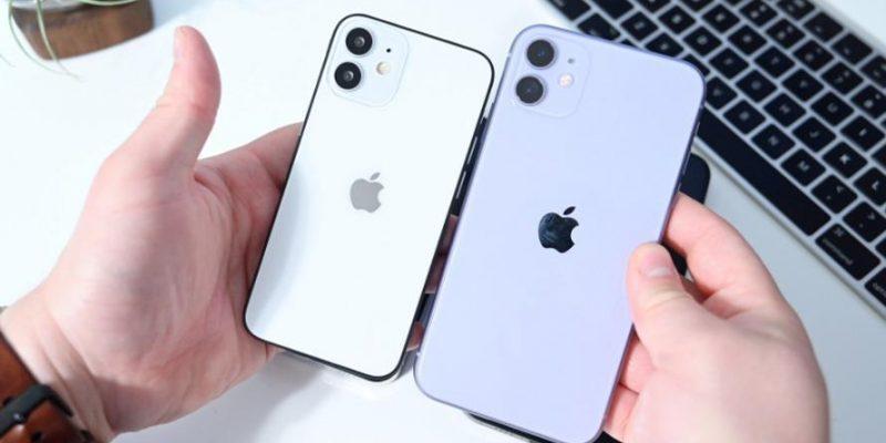 Первое видео об iPhone 12 mini показывает, насколько он крошечный (apple mozhet ispolzovat nazvanie iphone 12 mini dlya samoj malenkoj)