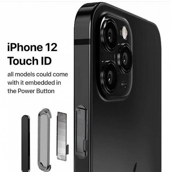 Слухи: Apple iPhone 12 получит сканер отпечатков пальцев сбоку (d961a46d fd5f 47f0 af11 d51603f98d4c 2)