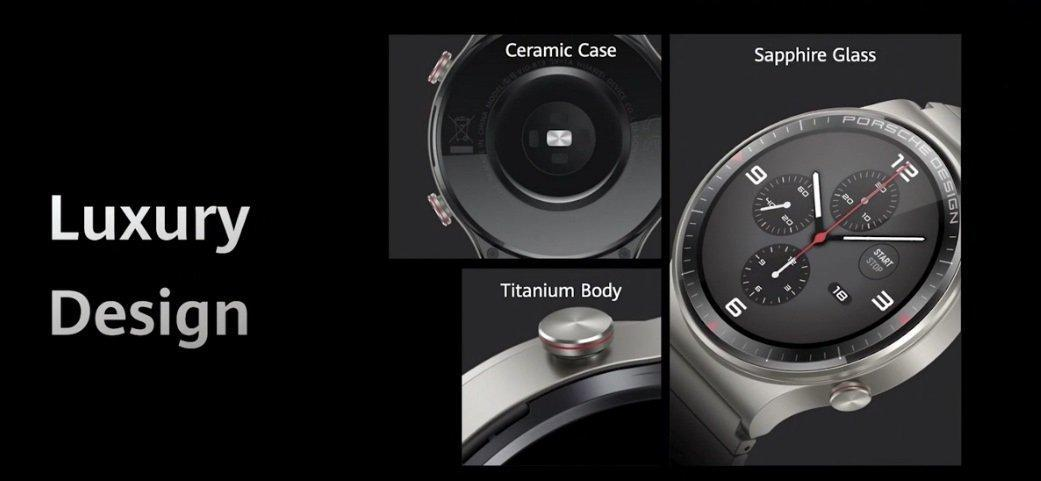 Huawei выпустила часы Watch GT2 Porsche Design (huawei watch gt2 porsche design)
