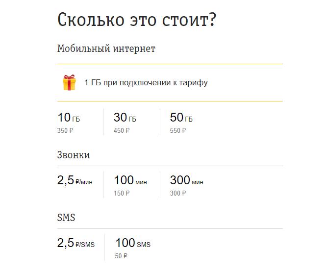 Билайн запустил новый тариф «Связь Z» для молодых (image 4)
