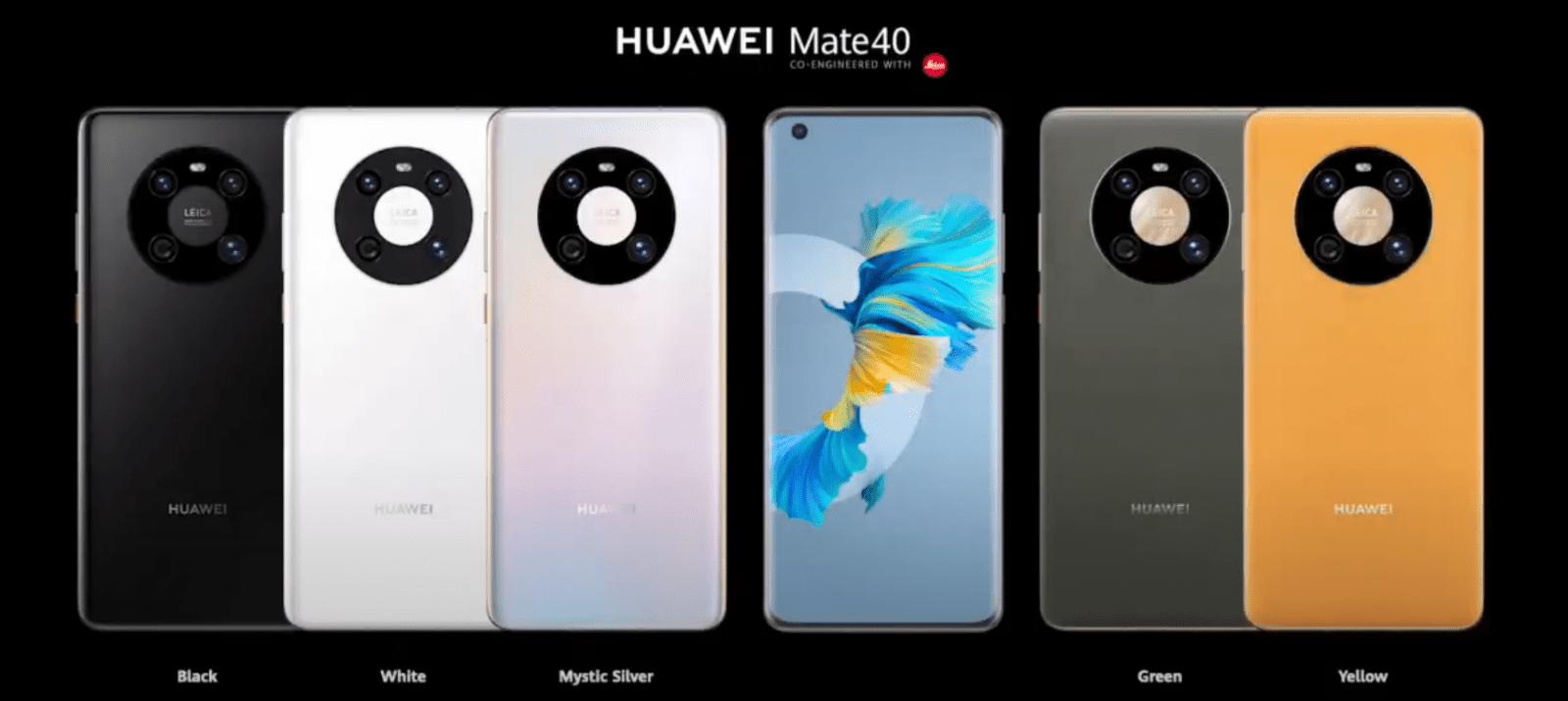 Прямая трансляция презентации Huawei Mate40 (image 40)