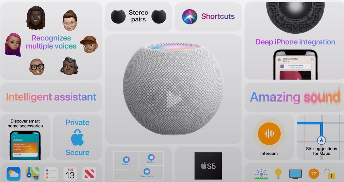 Apple представила HomePod mini, новую колонку c Siri (image 7)