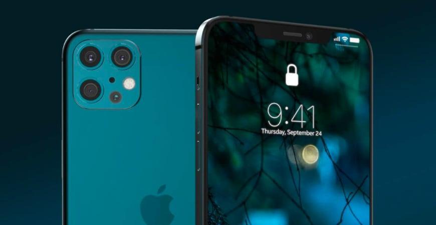 Слухи: Apple iPhone 12 получит сканер отпечатков пальцев сбоку (iphone 12 1)