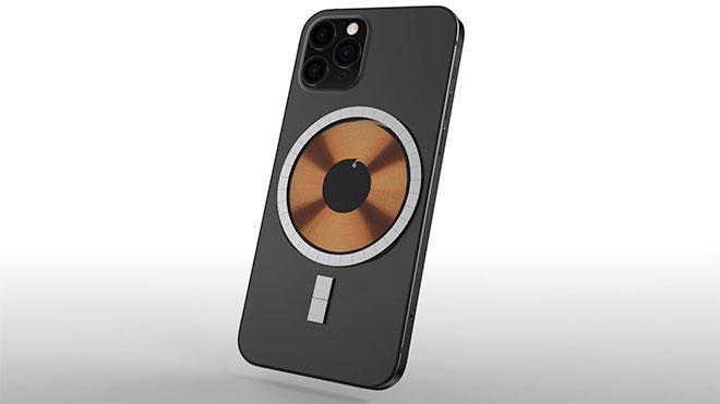 Магнитная зарядка для iPhone 12 засветилась до презентации Apple (iphone 12 serisi icin kablosuz sarj odakli ilginc miknatis detayi)