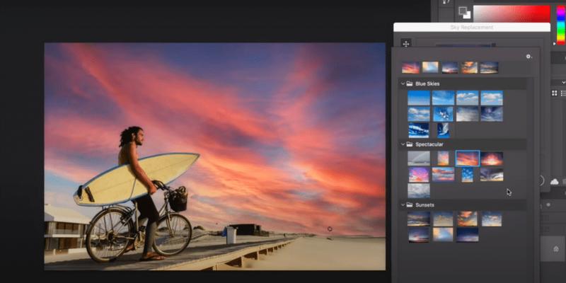 Искуственный интеллект в Photoshop 2021 может менять небо или сглаживать кожу (jqsf 2lw3y6x69znqbnys4lcp 4)