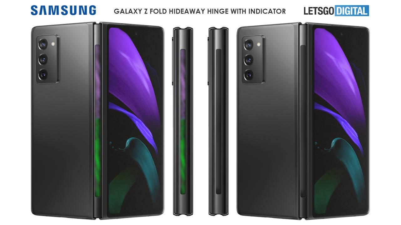 Петли Galaxy Z Fold 3 могут получить световой индикатор (samsung opvouwbare telefoons 1280x720 1)