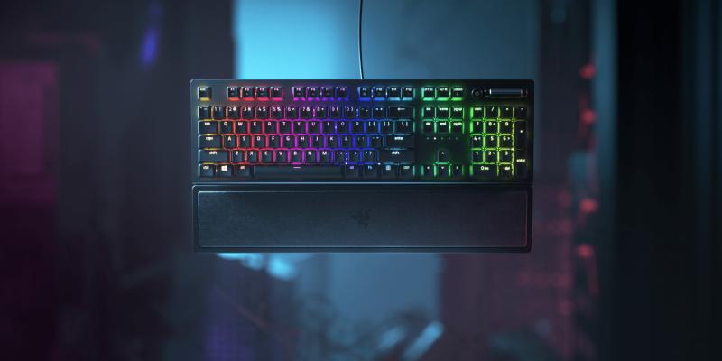 Razer выпустил новую клавиатуру BlackWidow V3 (thumbnail)