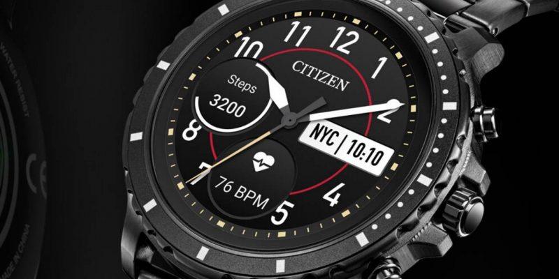 Citizen представила свои первые умные часы (1 5)