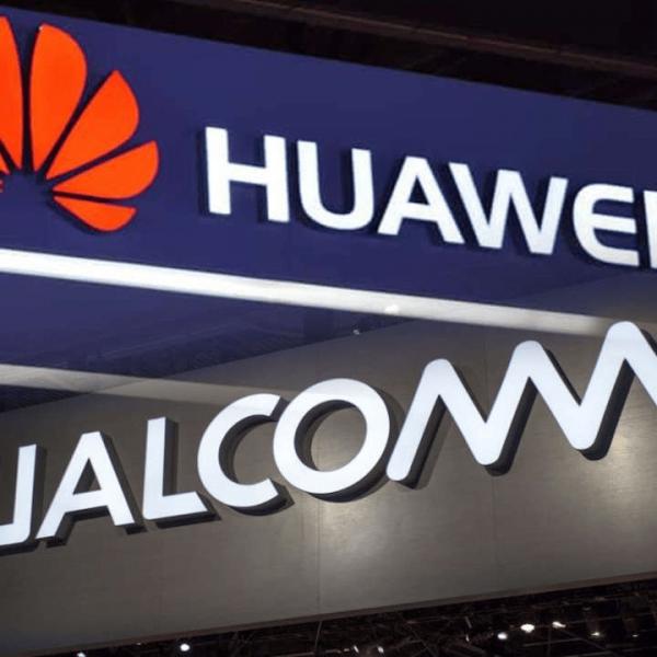Qualcomm получила лицензию на поставку чипов Huawei (1596094458 huawei qualcomm logo large)